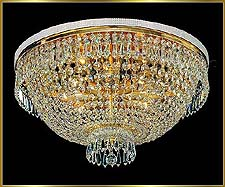 Flush Mount Chandeliers Model: MV 1008