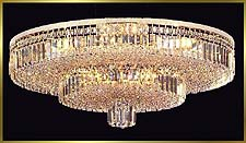 Flush Mount Chandeliers Model: MV 1012