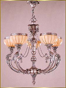Alabaster Chandeliers Model: RL 1369-78