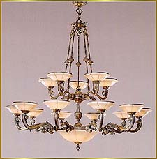 Alabaster Chandeliers Model: RL 395-140