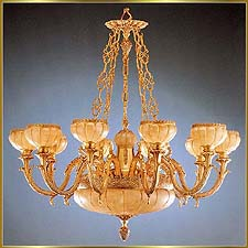 Alabaster Chandeliers Model: RL 448-130