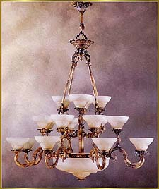 Antique Crystal Chandeliers Model: RL-1477