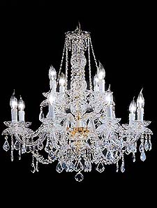Traditional Chandeliers Model: TEMP 12L