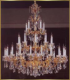 Foyer Chandeliers Model: VI 4601