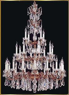 Foyer Chandeliers Model: VI-4602