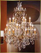 Wrought Iron Chandeliers Model: BB 3304-18