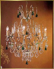 Wrought Iron Chandeliers Model: BB 3309-5