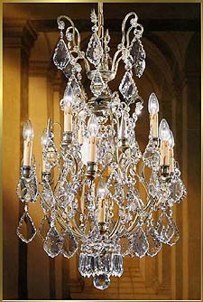 Wrought Iron Chandeliers Model: BB 3321-9
