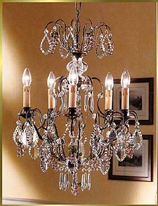 Wrought Iron Chandeliers Model: BB 3324-5