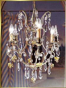 Wrought Iron Chandeliers Model: BB 3326-3