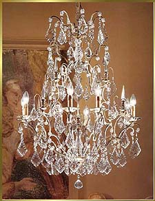 Wrought Iron Chandeliers Model: BB 3330-8