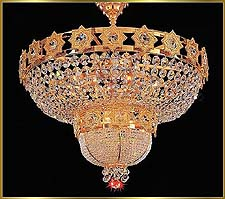 Flush Mount Chandeliers Model: VI 3013