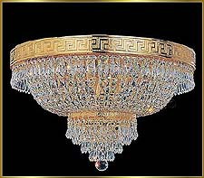 Flush Mount Chandeliers Model: VI 3100
