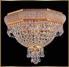 Flush Mount Chandeliers Model: VI 3157