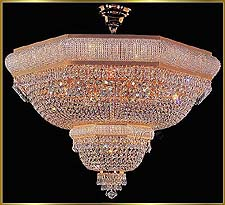 Flush Mount Chandeliers Model: VI 3159